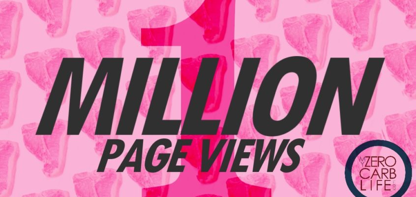 One Million Hits!